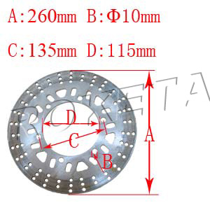 PART 39: MC-51 FRONT BRAKE DISC