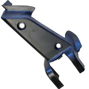 PART 46: MC-70 LEFT PEDAL MOUNTING BRACKETS DECORATIVE COVER