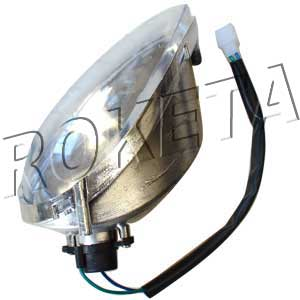 PART 01-1: MC-70 LEFT FRONT TURN SIGNAL