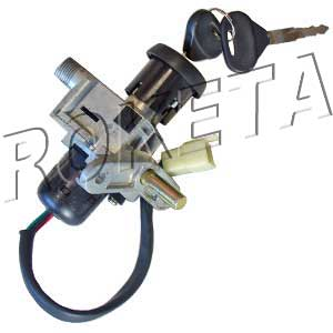 PART 17: MC-70 IGNITION SWITCH w/ KEYS