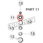 PART 11: MC-13-150 REAR SHOCK BRACKET OIL SEAL