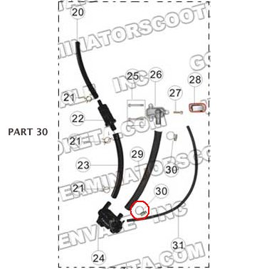 PART 30: MC-13-150 ONE WAY VALVE HOSE CLAMP