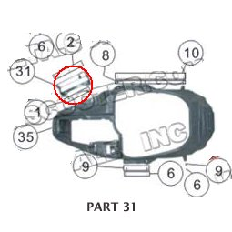 PART 31: MC-13-150 SEAT MOUNTING BRACKET