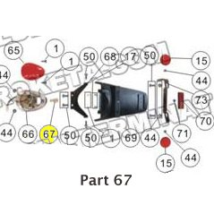 PART 67: MC-17-50 BULB TAIL LIGHT