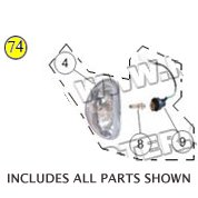 PART 74: MC-17-50 HEADLIGHT ASSEMBLY
