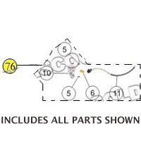 PART 76: MC-17-50 LEFT FRONT TURN SIGNAL ASSEMBLY