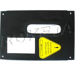 PART 05: UV-09 DECORATIVE BOARD, SHIFT SEAT