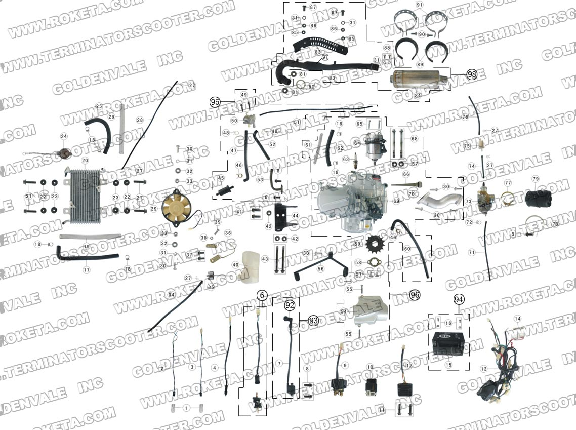 Roketa 150 Engine Diagram Another Blog About Wiring 250cc Atv Gk 01 Free Image For