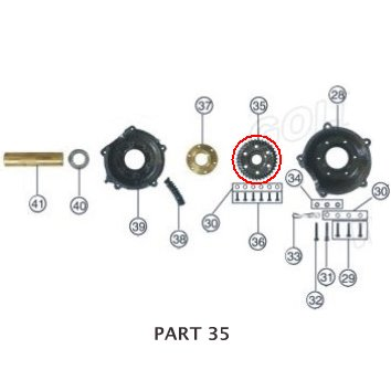 PART 35: ATV-01 REAR AXLE GEAR