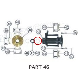 PART 46: ATV-01 ELASTICITY FASTENER, REAR AXLE BLOCK