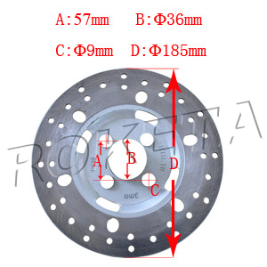 PART 29: ATV-15C REAR BRAKE DISC