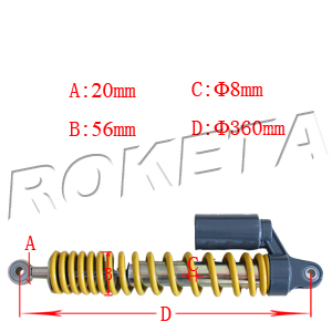 PART 01: ATV-17WS FRONT SHOCK ABSORBER