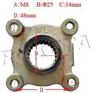 PART 19: ATV-32 REAR SPROCKET BRACKET