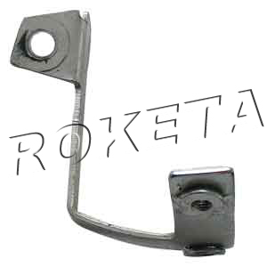 PART 18: ATV-38 DUSTCOVER BRACKET, RIGHT FRONT WHEEL