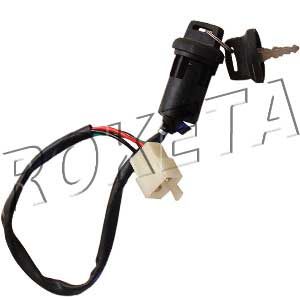 PART 01: ATV-60 IGNITION SWITCH w/ KEYS