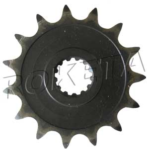 PART 14-10: ATV-61 FRONT SPROCKET 520/15
