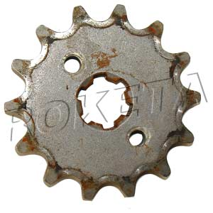 PART 03-6: DB-34 FRONT SPROCKET 420/14