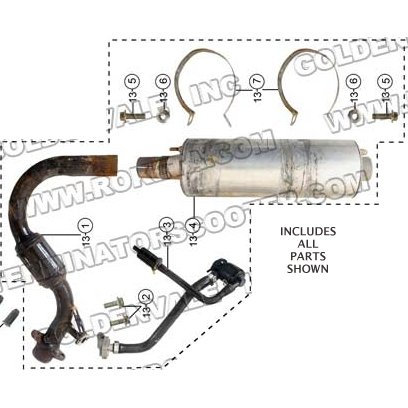 PART 13: GK-39 EXHAUST SYSTEM