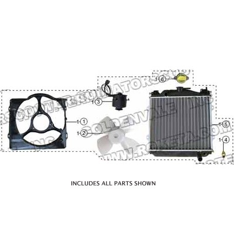PART 01: GK-40 RADIATOR ASSEMBLY