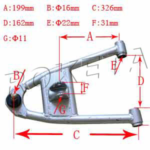 PART 27: GK-40 FRONT LOWER SWING ARM