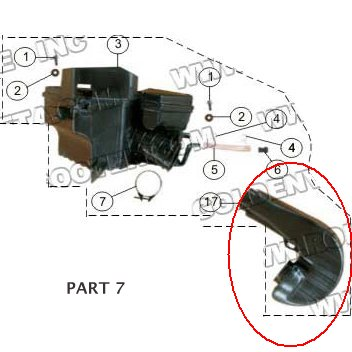 PART 17: MC-13-250 AIR CLEANER SYPHON