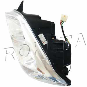 PART 13-3: UV-07A LEFT FRONT LIGHT